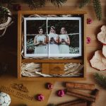 wooden box wedding photography