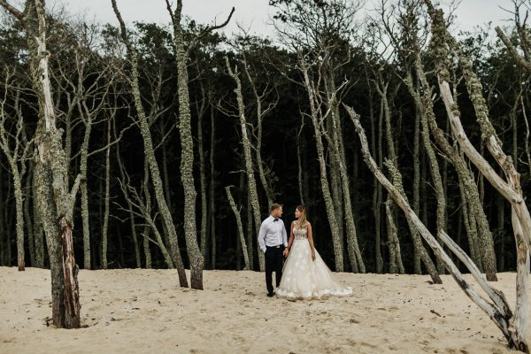 Sand Dunes Wedding Session