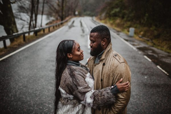 A Rainy Elopement in the Scottish Highlands