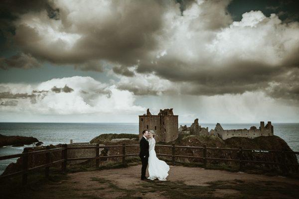 Dunnottar Castle Elopement Photographer