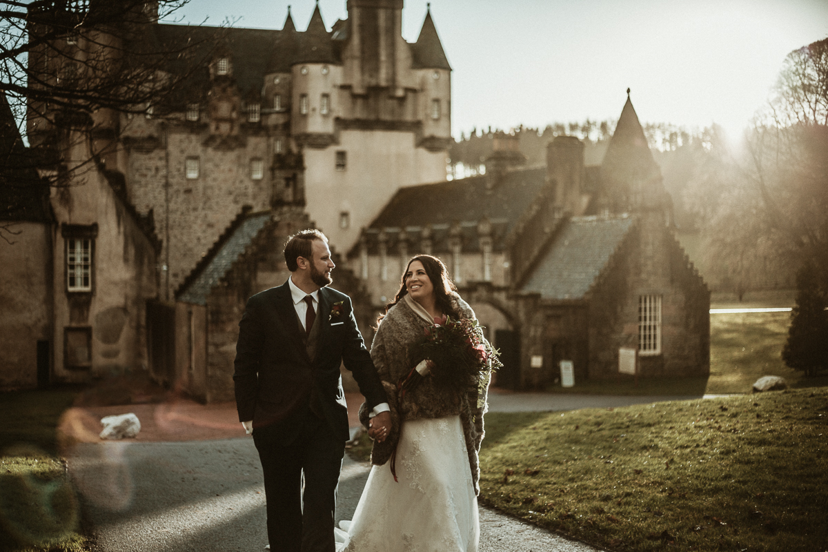 Castle Fraser Wedding Photographer