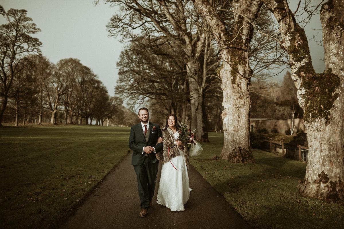 After Wedding Photography at Castle Fraser