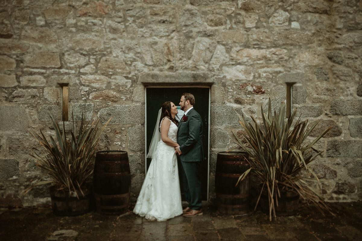 Scottish elopement at Castle Fraser