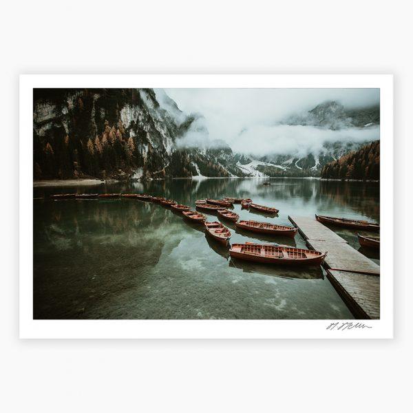 Lago di Braies Print