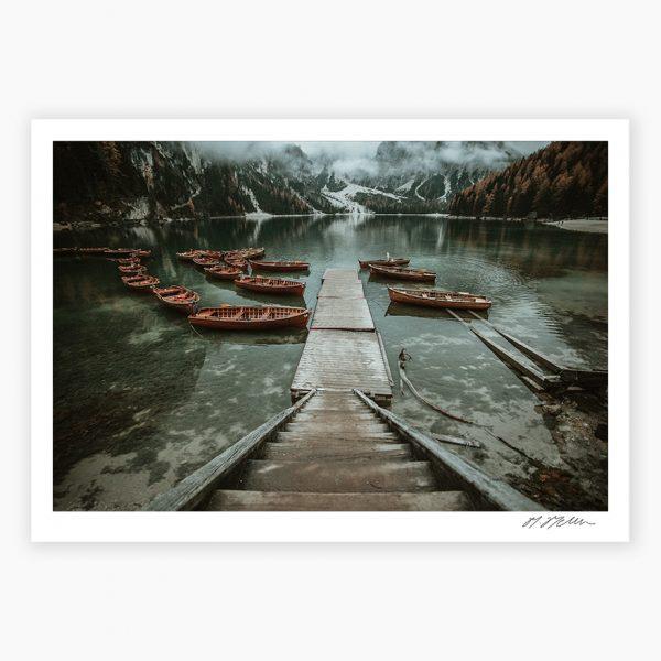 Lago di Braies Photography Prints
