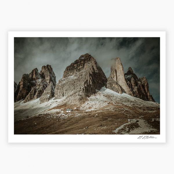Tre Cime di Lavaredo Photography Prints