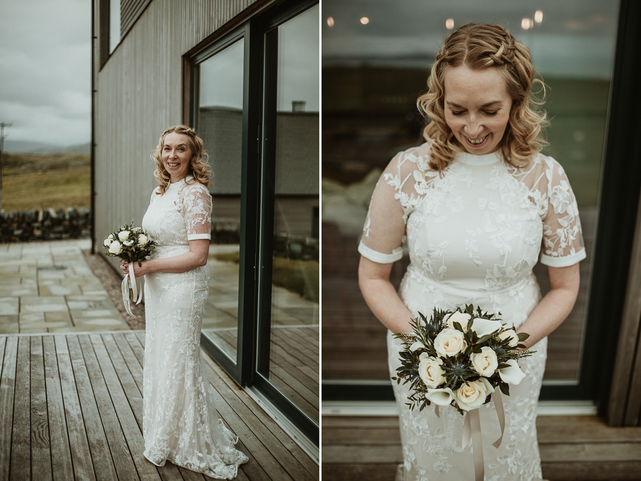 Bride portrait at the Sheep station