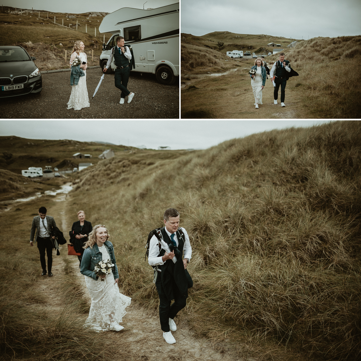 Luskentyre beach elopement