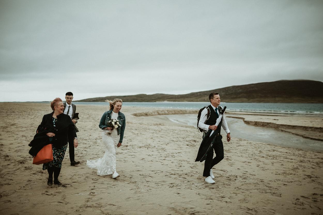 Scottish elopement on Isle of Harris
