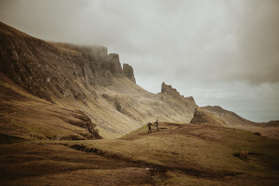 Engagement photo session by Isle of Skye Photographer