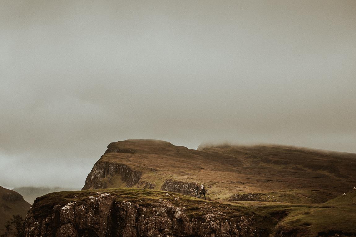 Pre-wedding shoot on Isle of Skye