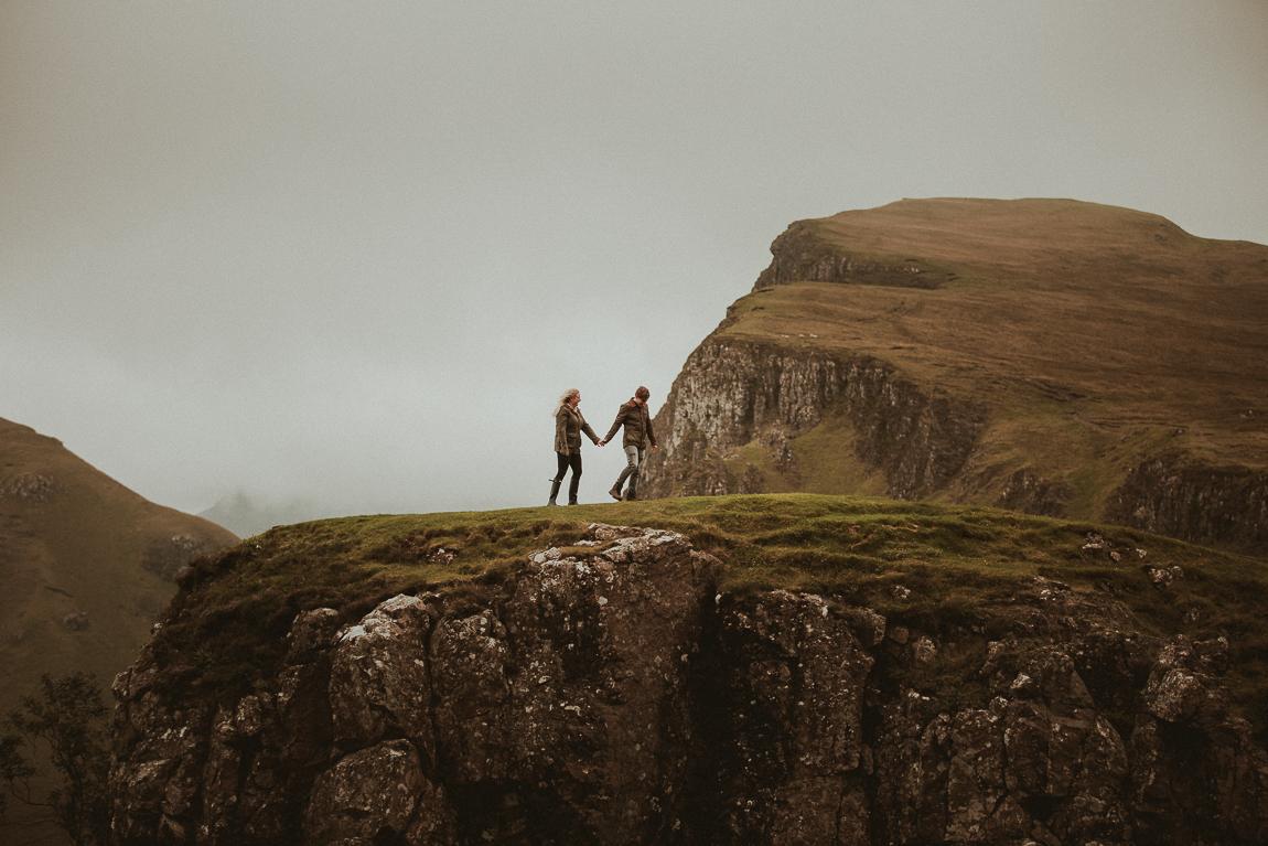 Engagement session on Isle of Skye