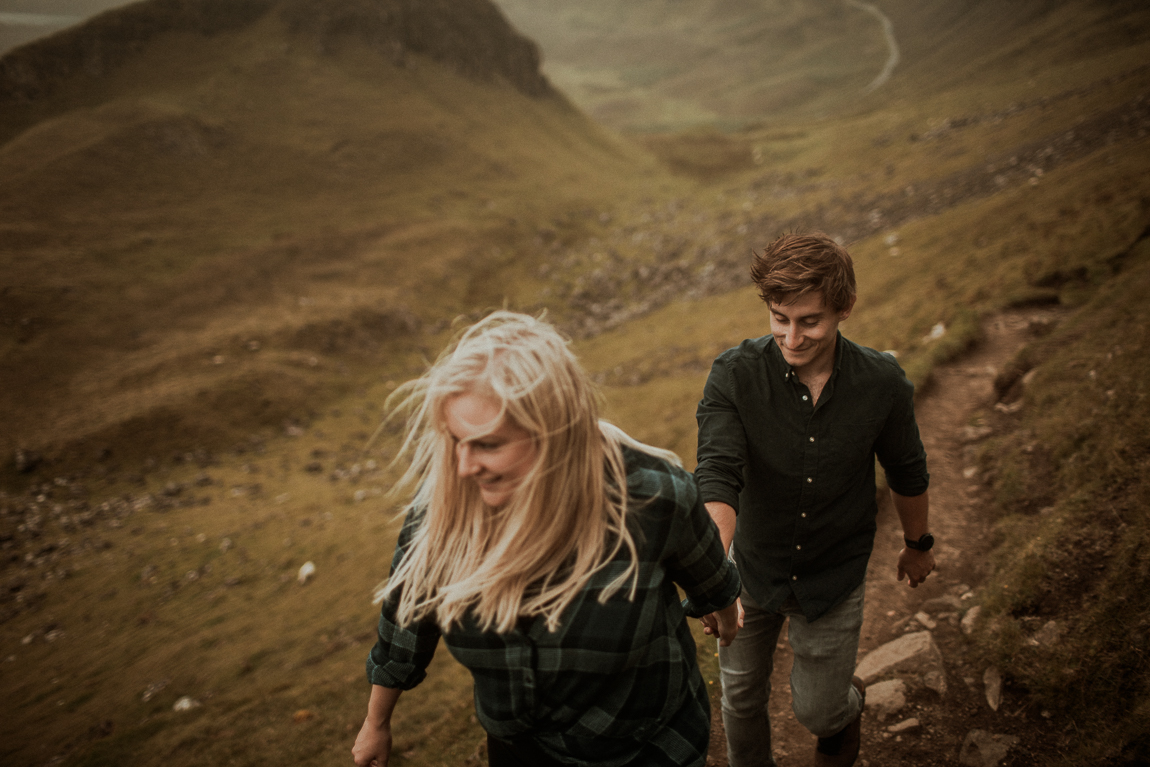 relaxed elopement on Skye