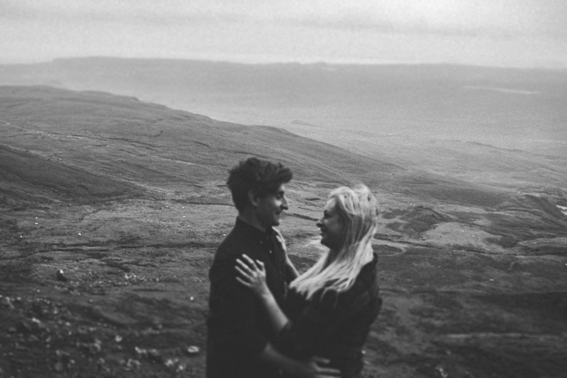 Engagement shoot Scottish Highlands