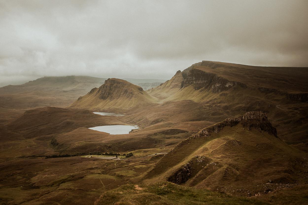 Quiraing Hills - Isle of Skye Photography